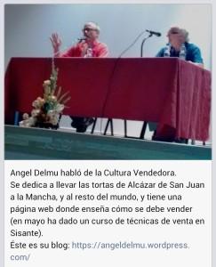 participación en encuentro de Sisante a primeros de JUlio 2015 angel delmu y www.tortasdealcazarporelmundo.es