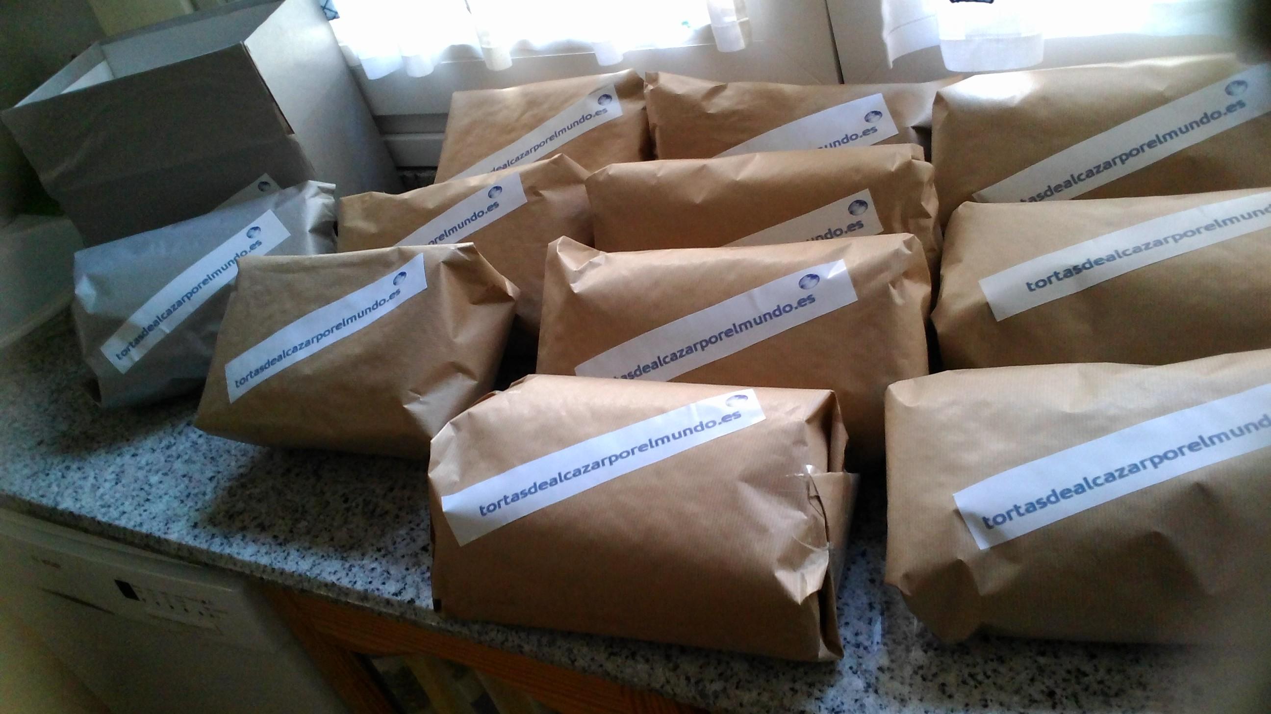 Primeros Pedidos de Setiembre www.tortasdealcazarporelmundo.es