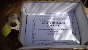 diploma hotel rural el cortijo en ronda