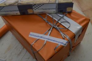 paquete regalo www.tirtasdealcazarporelmundo.es noviembre 2015