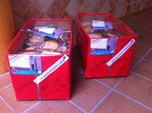 Empaquetado de tortasdealacazar para Fitur