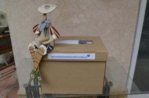 Don Quijote o Cervantes con el nuevo envase tortasdealcazarporelmundo.es