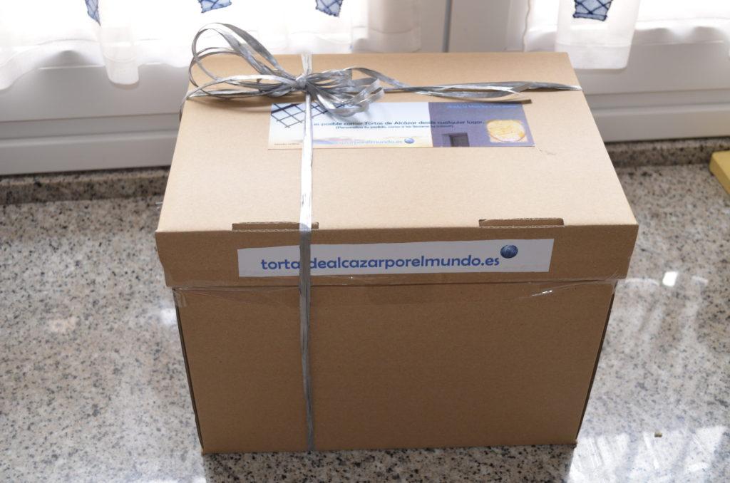 Nuevo embalaje tortasdealcazarporelmundo.es