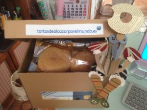 caja con tortas las canteras y Don Quijote o Hidalgo 2