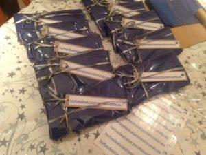 Paquetes tortasdealacazarporelmundo.es envoltorio especial bloggers Guiso Bodas Camacho 2016